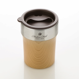 TEASCAFE Malvern wood tumbler with Slide_lid_ Mini series