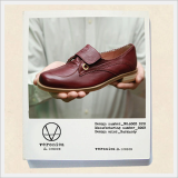 Female Shoe -V.W.M.S No.8003 BURGUNDY