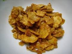 FRIED MELINJO CRACKERS WITH FLAVOR - SWEET