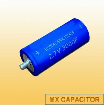 Large Capacitance Gold 2 7v 600f Ultracapacitor From