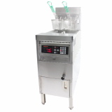 Combination open fryer with built_in Filtration_1_well gas_