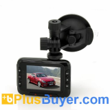2.7 Inch 1080p HD Car DVR Dashcam (16x Zoom, Motion Detection)