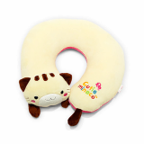 U shaped plush cat pillow_1