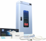 Smartphone safety box for charging _ sterilization of phone