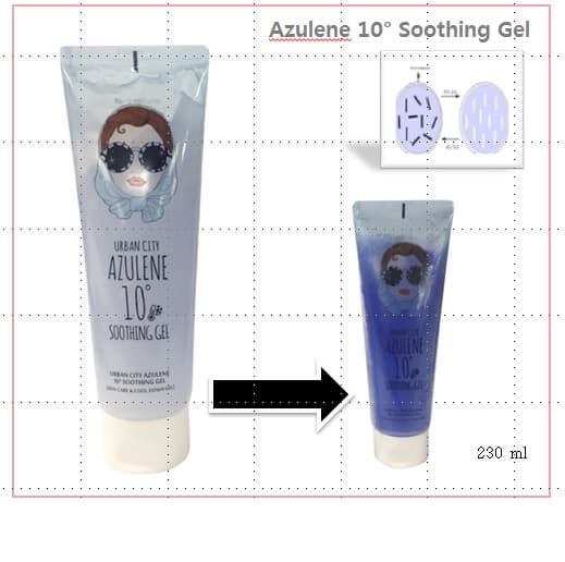 _Urban Dollkiss_ Urban City Azulene 10_ Soothing Gel
