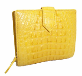 Luxury Crocodile Leather Wallet for Women