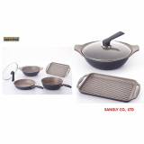 Megastone coating cookware set