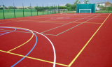 Multipurpose Elastic Sports Flooring System1