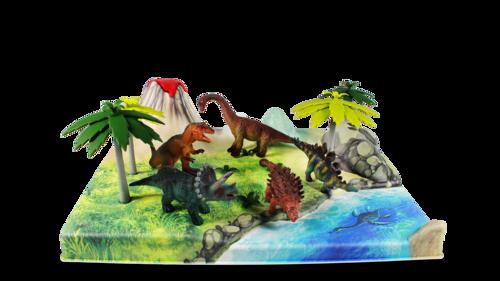 GSHOBBY Dinopla Plastic Model Dinosaur Toy, Tino, Tyrannosaurus Toys Green GUNDAMSHOP