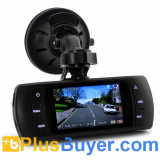 2.7 Inch 1080P Car DVR (GPS Logger, G-Sensor, Motion Detection, 120 Degree Wide Angle)