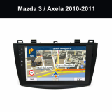 Automotive Multimedia Manufacturer Mazda 3 Axela 2010 2011