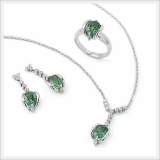 Jewelry Set-Miyavi Green