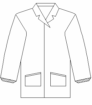 Cleanroom Coverall _ Two Piece