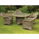 poly rattan coffee chair