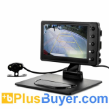 Car Black Box DVR with Wireless Reversing Camera (1080p HD, 4.3 Inch)