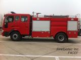 Fire Chemical Pumper