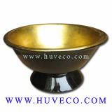 Traditional Handmade Vietnam Lacquer Decor Bowl