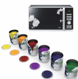 Glass panel printing ink
