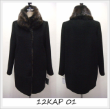 [Keosan Apparel] Luxury Coat for Women (12KAP-01)
