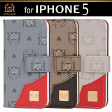IPhone 5 Case, Diary Case, Mobile Phone Wallet, Cellular Phone [LovelyHeart Korea Co., Ltd]