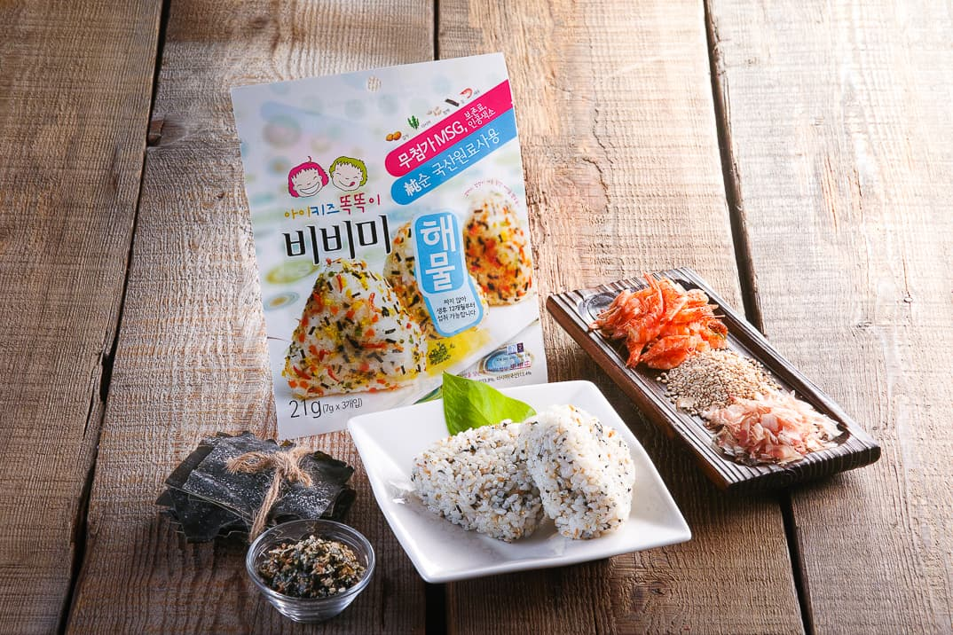 Baby food Ingredients _ Seafood Furikake