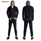 Hotsuit Sauna suit set G Hoodie zipper Jacket sauna suit set