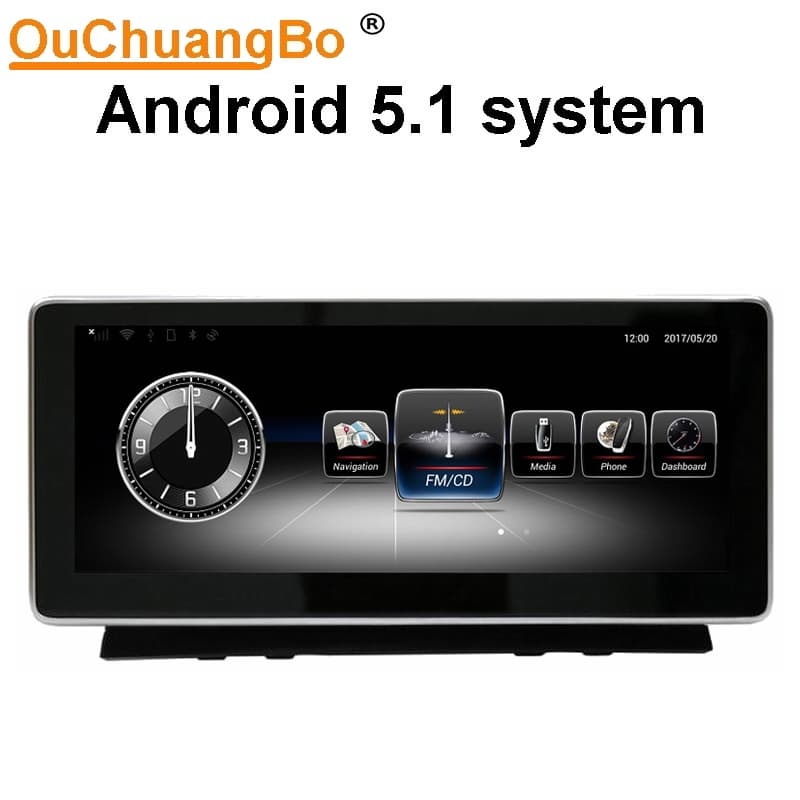Ouchuangbo car audio gps for Benz C w204 android 10 25 inch | tradekorea