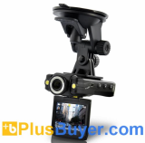 Eagle Dash Cam - Mini Car HD DVR (1080P, HDMI, Motion Detection)