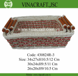 Vietnam wicker gift basket