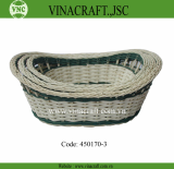 Rattan basket for gift