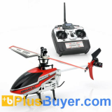 Air Max - 4 Channels RC Helicopter with Gyro (2.4GHz, 30 Meters Remote)