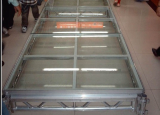 mobile glass stage