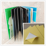 Self-adhesive pvc sheet for photo album