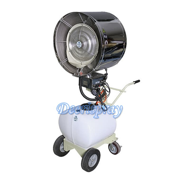 Deeri Industry Oscillating Pedestal Mist Water Spray Fan