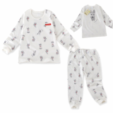 _puppy_ double layer long sleeves pajama set