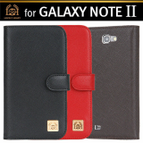 Smartphone Case,Diary,Galaxy NOTE2,Natural Cowhide Leather [LovelyHeart Korea Co., Ltd]