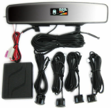 ePathChina.com: Multi-functional Car Rearview Camera with LED Parking Sensor