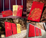 Rhinestone Red Packet _ Chinese New Year Red Envelope