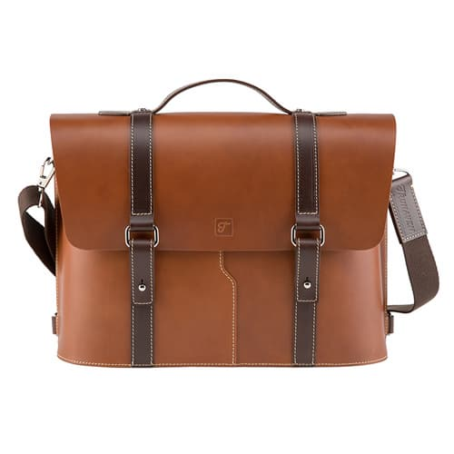 Truhaven Multi_use Leather Briefcase _Tan Brown_