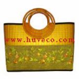 Ladies Handmade Bamboo Fashion Handbag