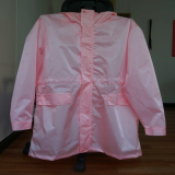 fashion raincoat-front side