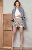 JACKET_ BLOUSE_ SHORT PANTS
