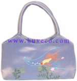 Beautifully Handmade Embroidered Silk Handbag