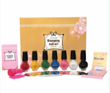 KONAD Stamping Nail Art Kit_Gold Set
