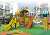 playground-wood house-