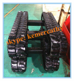 rubber track undercarriage with load capacity 1 ton