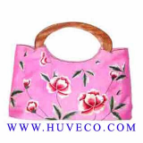 Handmade Fashion Embroidered Silk Handbag
