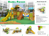 playground equipment-HAPPY FOREST-
