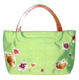 Floral Fashion Embroidered Silk Handbag
