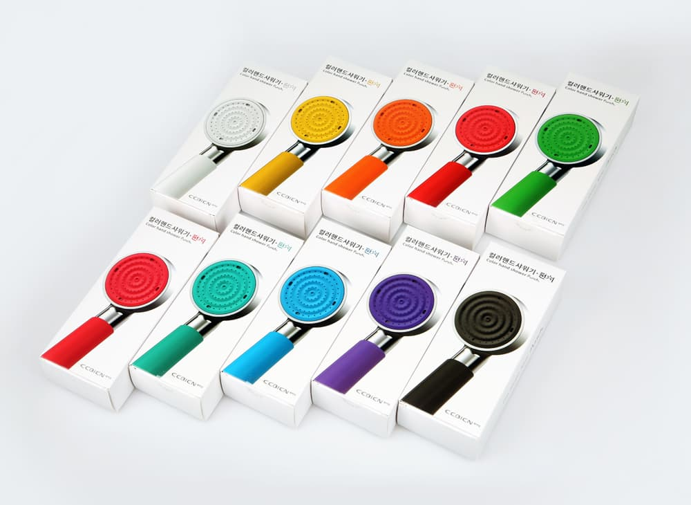 Color Shower Head Series PUNCH _ ARCH